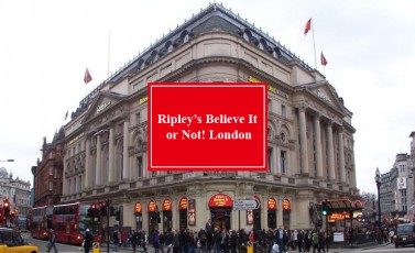 Ripley's Believe It or Not! London | 雷普利信不信由你奇趣博物馆