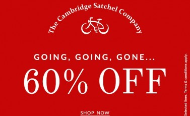 剑桥包The Cambridge Satchel Company限时60%OFF Sale又添新款了!