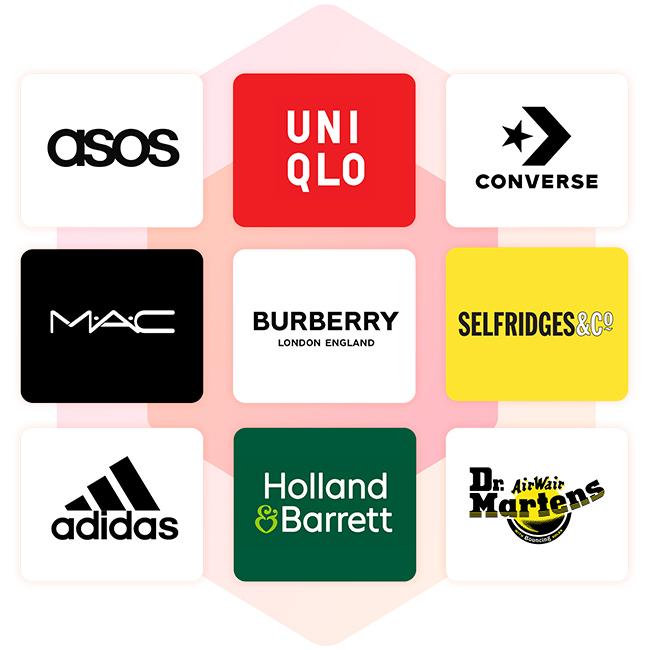 300+ brands on RedScarf App