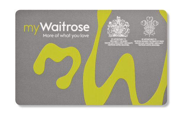 waitrose会员卡