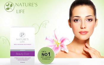 Beauty Elixir抗衰老美容保健品,天然成分