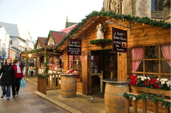 卡迪夫圣诞集市