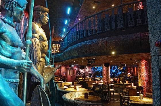 Shaka Zulu伦敦浪漫餐厅