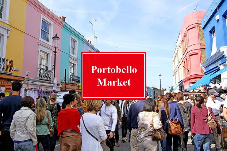 诺丁山市集 | Portobello Market