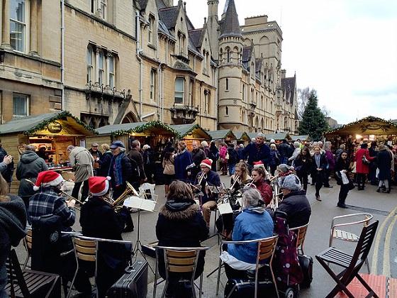 牛津圣诞集市