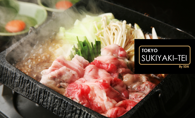 Tokyo Sukiyaki-tei   伦敦的日本寿喜锅专家