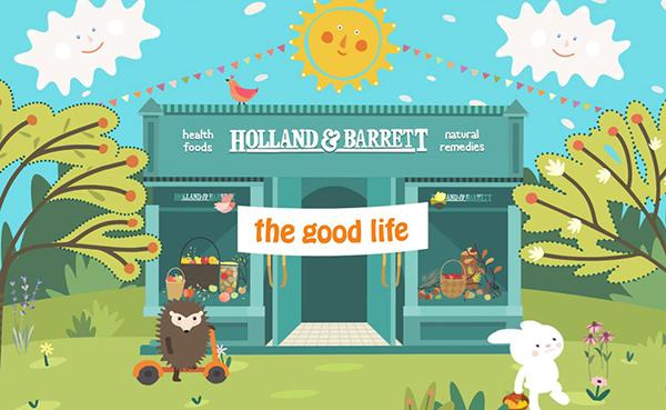 Holland & Barrett | 英国王牌保健品牌