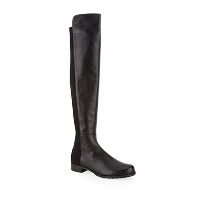 Stuart Weitzman Leather 5050 Over-The-Knee Boots 过膝靴
