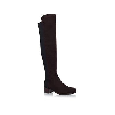 Stuart WeitzmanSuede Reserve Over-The-Knee Boots 40 过膝靴