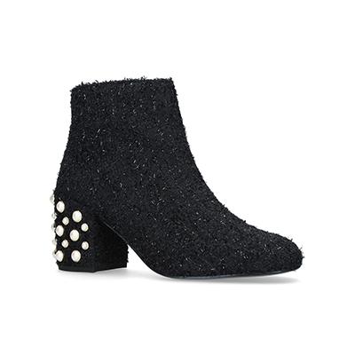 Stuart WeitzmanWoven PearlBacari Ankle Boots 80 短靴