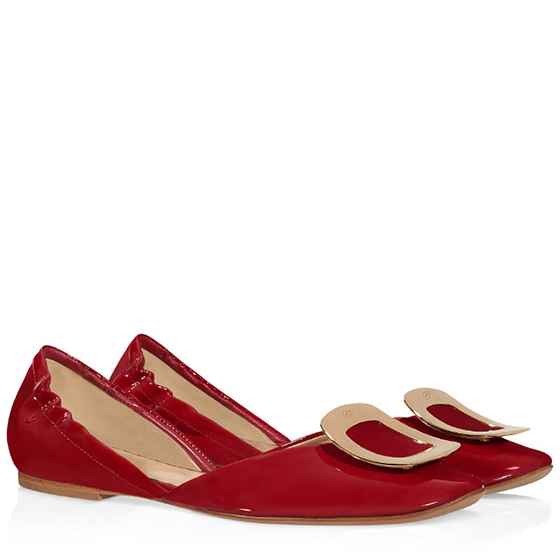 Chips Ballerinas in Patent Leather