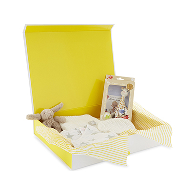 SELFRIDGES Five piece baby hamper set