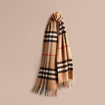 BurberryWomen's Cashmere Scarves 围巾