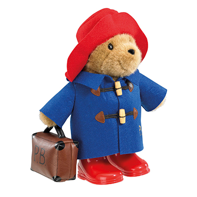 Paddington Bear with Boots & Suitcase