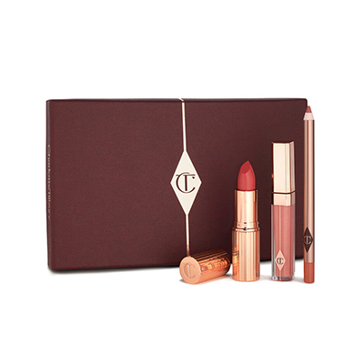 Charlotte Tilbury The Perfect Pink Kiss Exclusive Lip Kit For Pink Lip Makeup