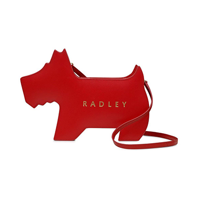 Radley Leather Zip-Top Leather Bag,Year of Dog