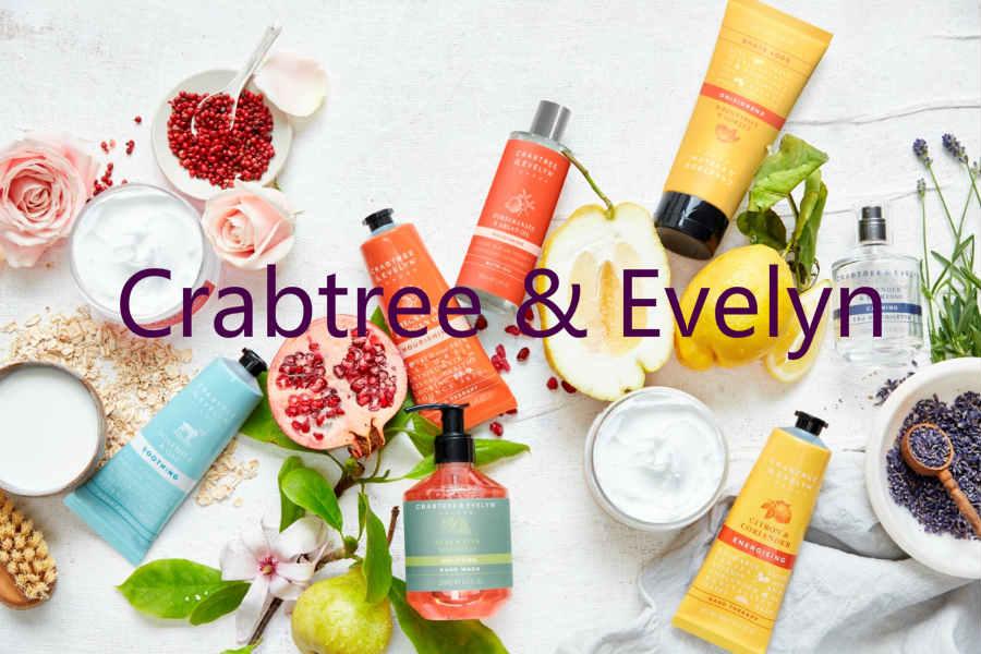 Crabtree & Evelyn英国本土护肤品牌7折 | 献给清新的你