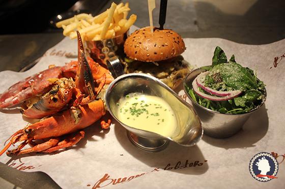 龙虾和汉堡