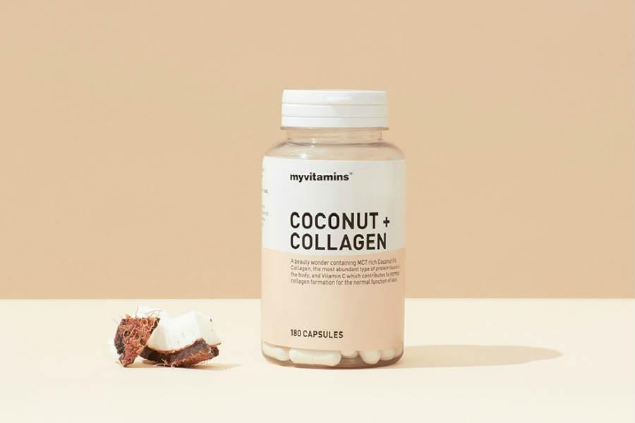 肌肤圣品补货   Myvitamins胶原蛋白+椰子油七折仅售8.49英镑
