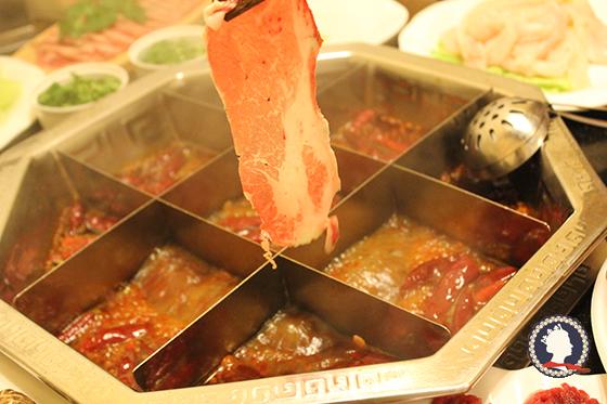 火锅食材黑毛猪肉