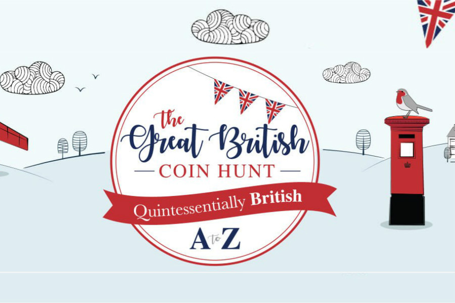 The Royal Mint A-Z字母英国经典事物纪念币 | 送人完美!
