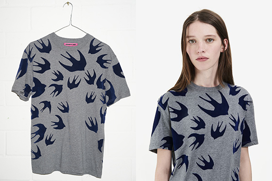 麦昆燕子T恤