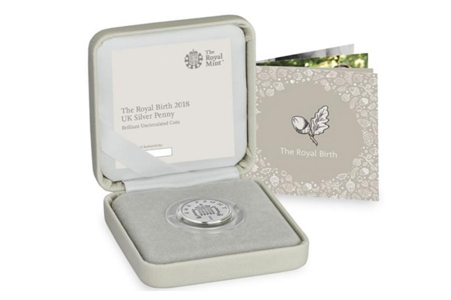 The Royal Mint发行英国小小王子诞生的限量纪念币啦!