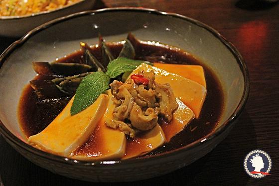 东风螺皮蛋豆腐