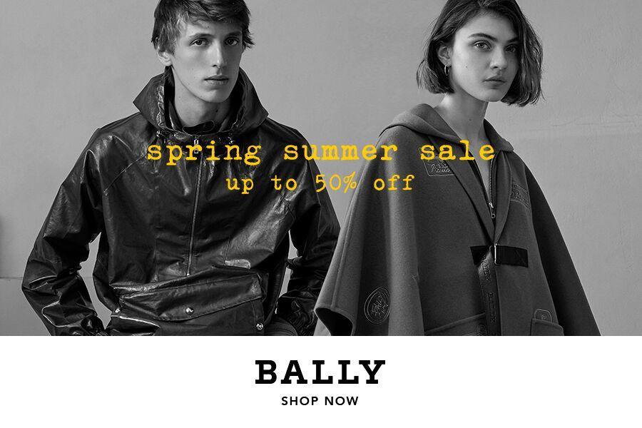 Bally巴利最新春夏系列,限时低至5折!