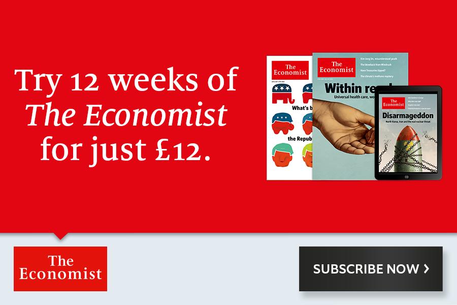 订阅《经济学人》优惠高达83%OFF