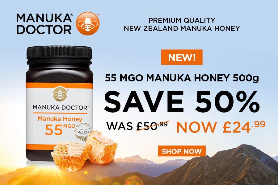 养胃蜂蜜马努卡500g大罐装,半价!