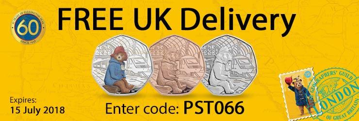 帕丁顿熊纪念币