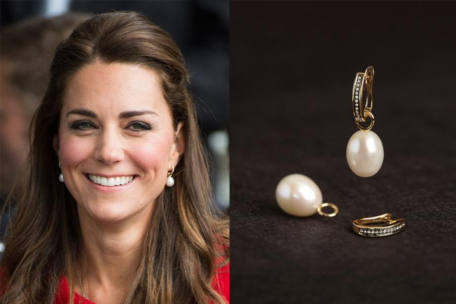 凯特王妃超喜欢的珍珠耳环get一下?