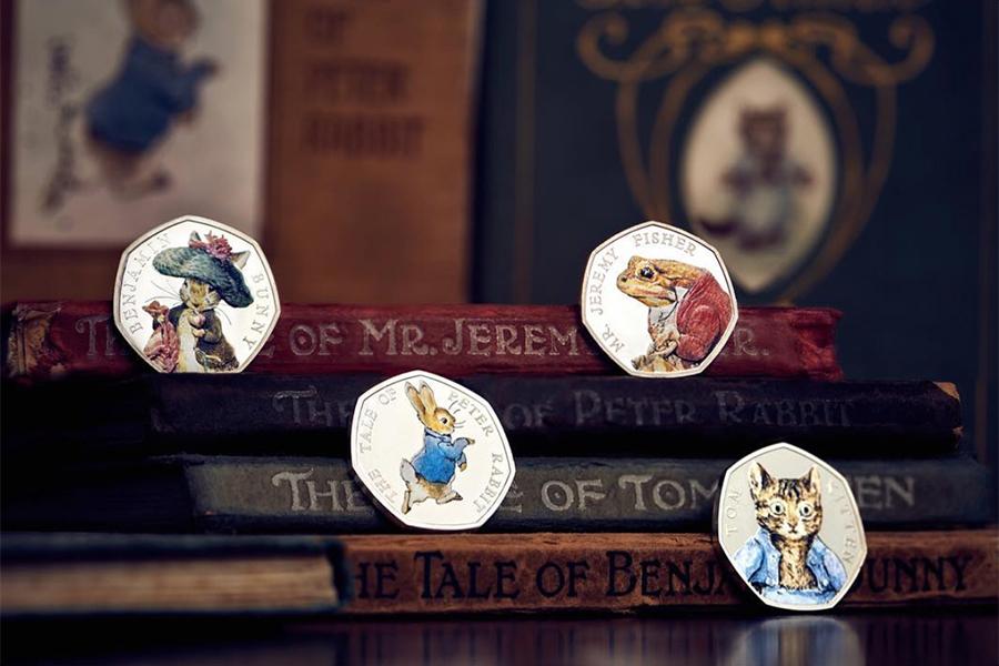 The Royal Mint英国皇家铸币局限时优惠,彼得兔系列纪念币买2享85折!