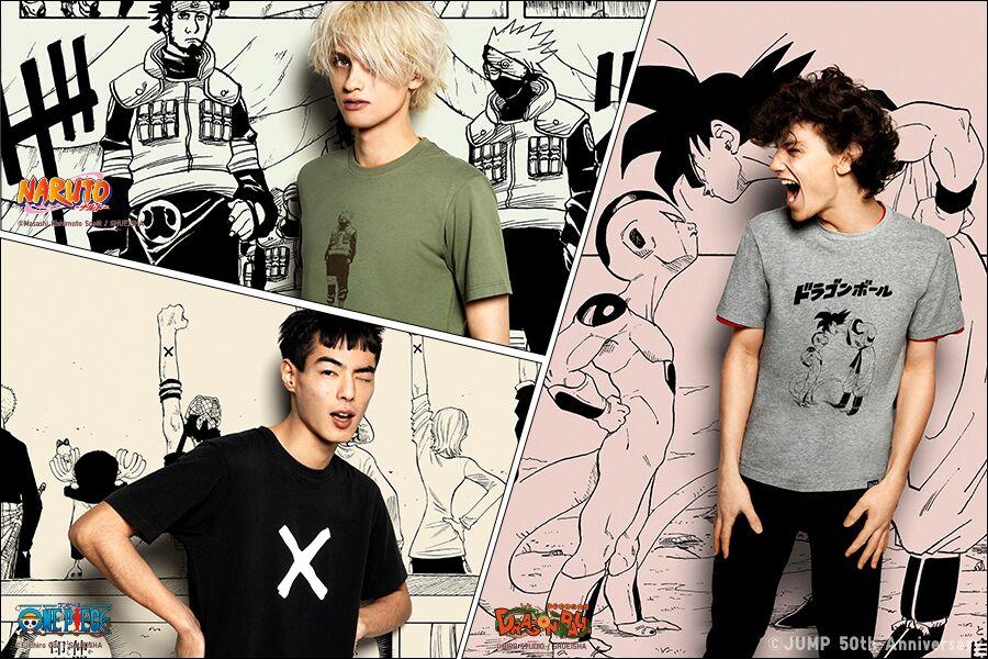 Uniqlo优衣库 ×《周刊少年JUMP》联名T恤持续热卖!现在官网还有其他系列的折扣!