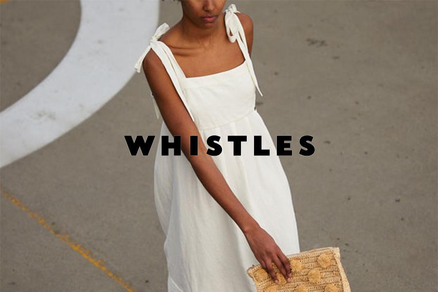 WHISTLES | 夏季折扣开启高达70%OFF,简约气质高品质女装折扣入!