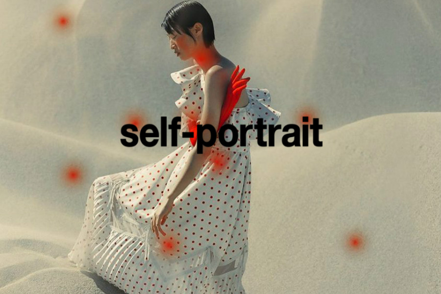 明星都在穿的Self-Portrait蕾丝裙30%OFF!