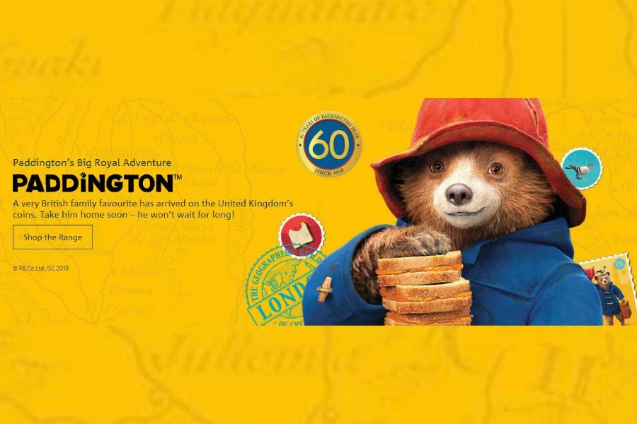 The Royal Mint英国皇家铸币厂帕丁顿熊纪念币即将售完!另有彼得兔纪念币等25%OFF!