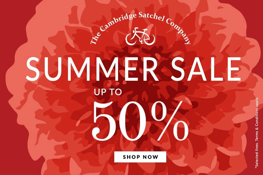 The Cambridge Satchel Company新款加入折扣!高达50%OFF!