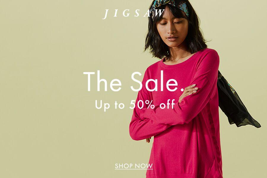 低调典雅的Jigsaw夏季折扣开始咯!