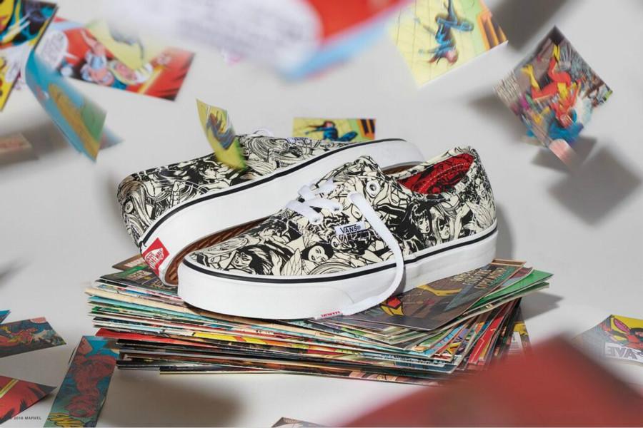 "Vans x Marvel联手打造""经典英雄系列""鞋款!AllSole上能买到哟!"