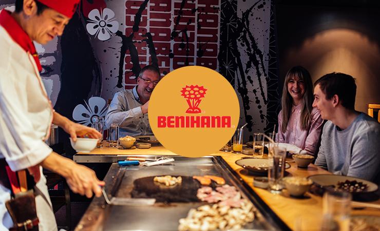 Benihana   能玩出花样儿的日式铁板烧(内含独家福利)