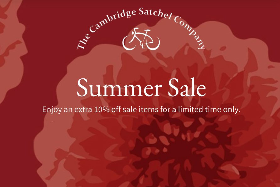 The Cambridge Satchel Company折扣本周末结束,高达60%OFF + 额外10%OFF!