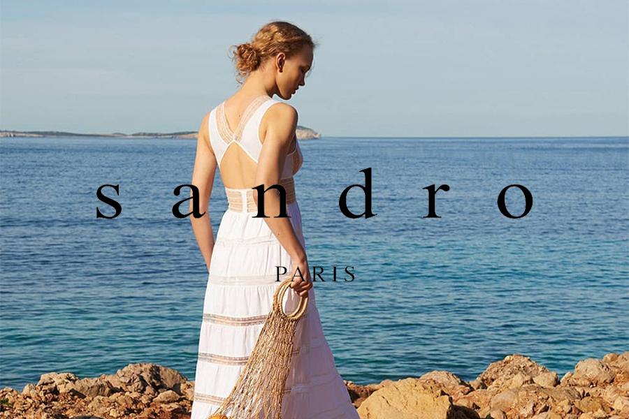 法式轻奢Sandro的夏季折扣页面你逛了吗?