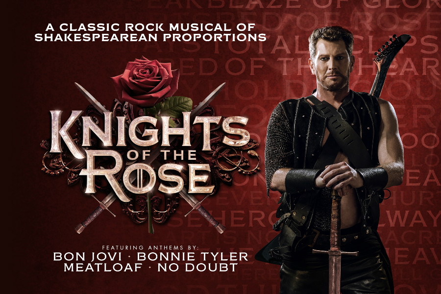 美好肌肉&劲爆摇滚,摇滚范音乐剧《玫瑰骑士》都给你!