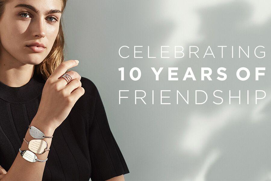 英国轻奢珠宝品牌Monica Vinader欢庆10周年,官网限时折扣15%OFF!