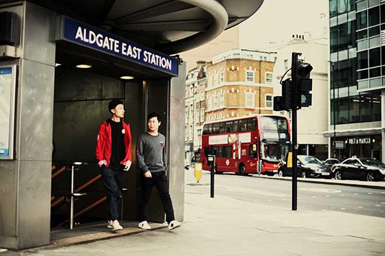 aldgate east地铁站