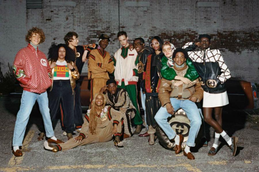 复古街头Gucci x Dapper Dan联名系列你买到了吗?