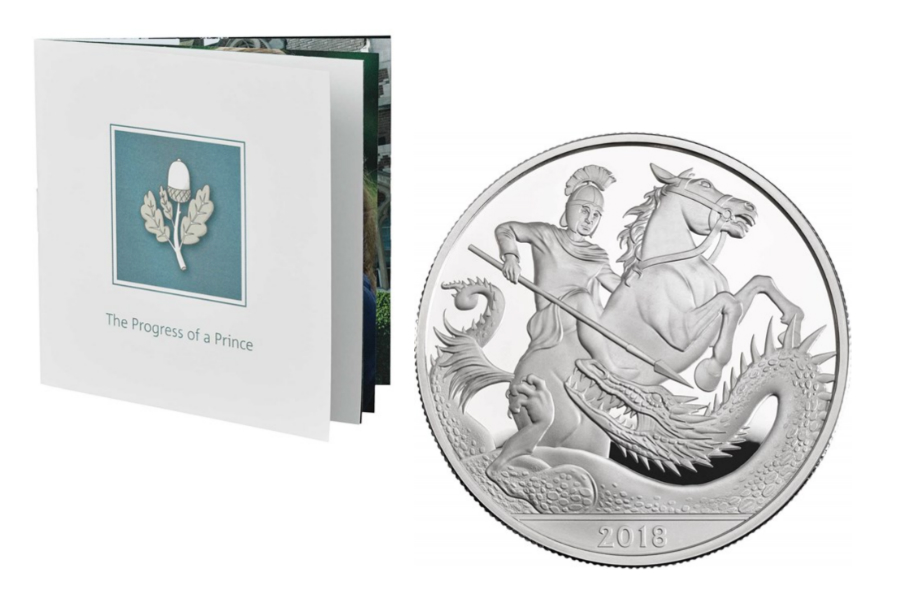 The Royal Mint皇家铸币厂欢庆乔治小王子5岁了,生日限量纪念币25%OFF!