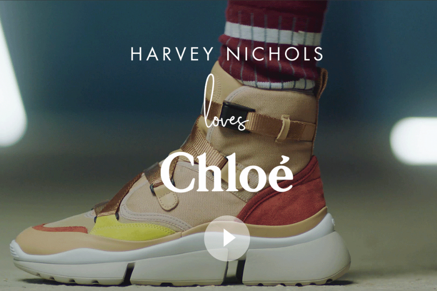 Chunky Sneakers复古风潮不散,Chloé也出老爹鞋?!